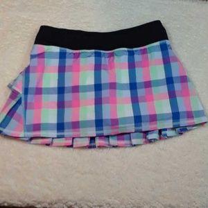 Lululemon tennis skirt size 6